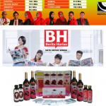 promosi Jus Delima Bio Emas di media cetak dan radio