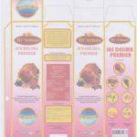 Perubahan Maklumat Label Kotak Jus Delima Bio Emas