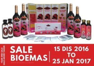 Promosi diskaun produk Bio Emas