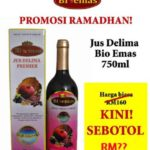 Promosi Ramadhan Jus Delima Bio Emas